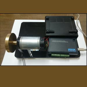 سیستم آزمایشگاهی کنترل دور موتور