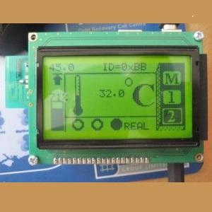 سامانه گره های بی سیم سنسوری و کنترلر دما