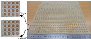 آنتن آرایه بازتابی پهن باند در باند X با RCS کم