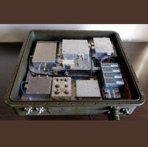 طراحی مکانیکی و ساخت ماژول چمدانی باند S