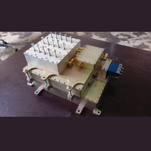 طراحی مکانیکی و ساخت ماژول گیرنده-فرستنده فضایی باند S و Ku ماهواره