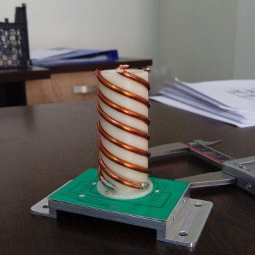 طراحی مکانیکی و ساخت فید آنتن فضایی باند S