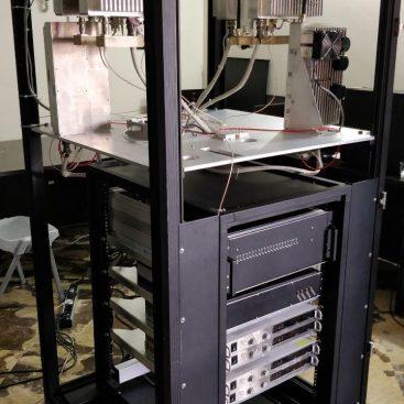 طراحی و ساخت رک فرستنده رادار هواشناسی