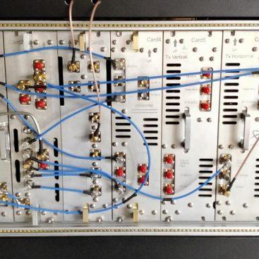طراحی و ساخت رک گیرنده رادار هواشناسی