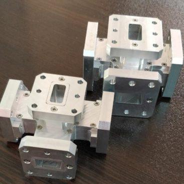 طراحی مکانیکی و ساخت فیلتر Magic-T باند Ku