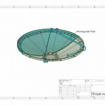 طراحی مکانیکی شبکه موجبری رادار هواشناسی